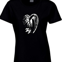 Foo Fighter One By One Japan Logo Womens T Shirt