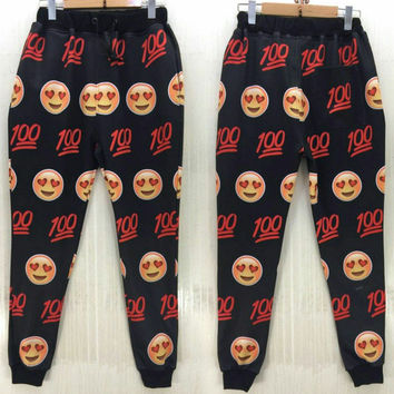 emoji jogger pants In love wit the Hundreds 100