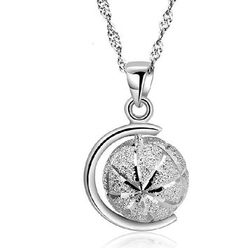 Gift Shiny New Arrival Jewelry 925 Silver Accessory Stylish Pendant Necklace [8080534791]