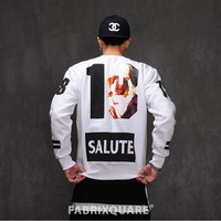 Mens Salute 18 Maria Cotton Fleece Sweat Shirt at Fabrixquare