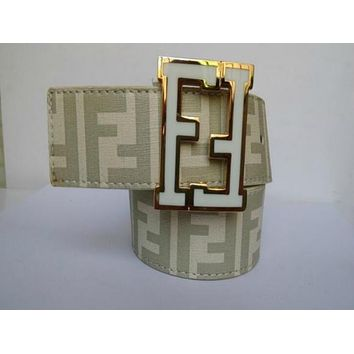 HOT MAN BELT MEN WOMEN FENDI LEATHER LATEST STYLE