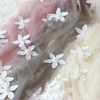 New Handmade Flower Pearl Tights Pantyhose White Flower 3D Sexy Lace Ultra Thin Sweet Pure Tights w138