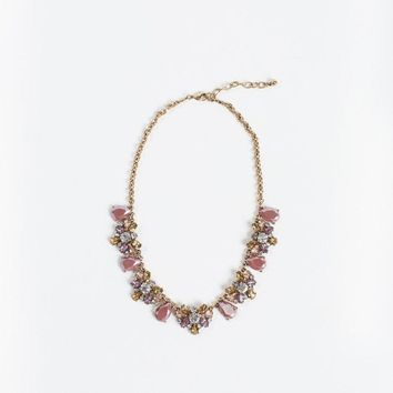 Etta Rose Crystal Statement Necklace