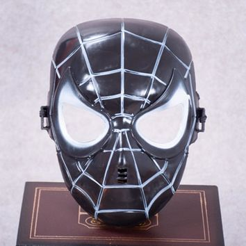 Fantasia Children The Amazing Spider-man Halloween Mask Rave party Carnival Christmas Costume Masquerade masked ball Cosplay