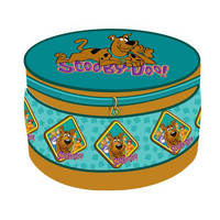 Komfy Kings, Inc 99521 Warner Brothers Scooby-Doo Paws Large Round Storage Ottoman
