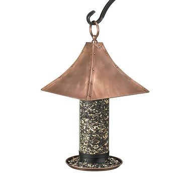 Good Direction Palazzo Large Bird Feeder (Copper)