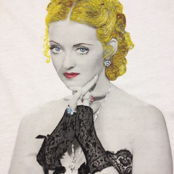 BETTE DAVIS T shirt Painted Hollywood Star Artistic Tshirt