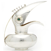 Los Castillo's Toucan pitcher with malachite eyes | Moda Operandi