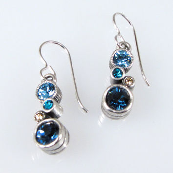 Patricia Locke Jewelry -  Cassie Earrings in Ceil Blue
