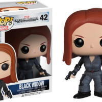 Captain America - The Winter Soldier - Black Widow Pop! Vinyl Bobble Head Figure
