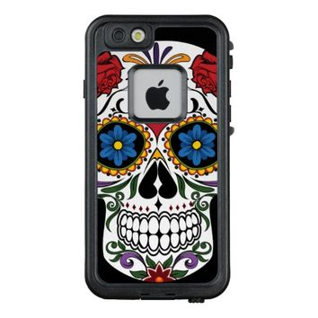 Colorful Sugar Skull LifeProof FRE iPhone 6 Case
