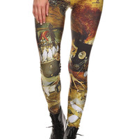 Triumph of Death Leggings