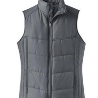 Ladies Puffy Vest | Buy Discount Port Authority Ladies Puffy Vest