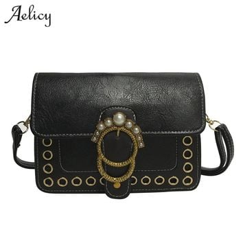 Aelicy brand women solid cover totes small handbag hotsale lady clutch purse casual messenger crossbody shoulder bags for girls