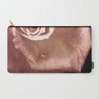 Rose-- Carry-All Pouch by Naomi IB