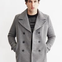 Only & Sons Mens Peacoat Grey | The Idle Man