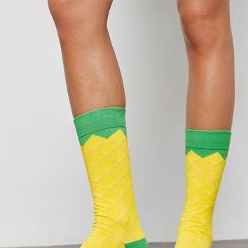 Pineapple Ice Pop Socks