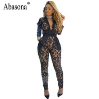 Sexy Women Lace Jumpsuits