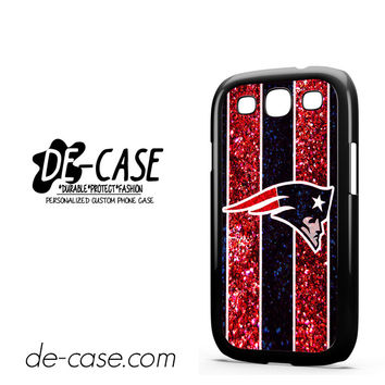 New England Patriots Nfl Logo Glitter For Samsung Galaxy S3 Case Phone Case Gift Present