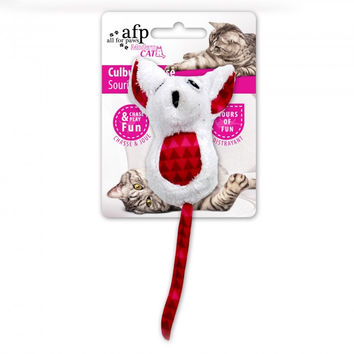 All For Paws Cat Toy Culbuto Mouse with Catnip