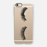 Puzzling Eyelash Wink iPhone 7 Case by Sweet Water Decor, LLC   Casetify (iPhone 6s 6 Plus SE 5s 5c & more)