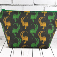 Loki Make Up Bag, Thor, Avengers Bag, Superhero Bag, Geek Bag, Tom Hiddleston, God of Mischief