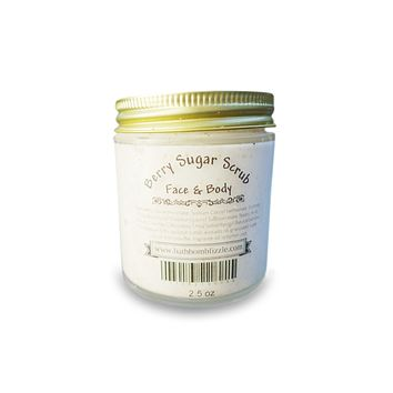 Berry Exfoliating Face and Body Sugar Scrub 2.5 oz