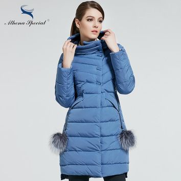 New Women Winter Coat Warm Winter Thick Hooded Parka Womens Bio Down Jackets Female Overcoat High Quality