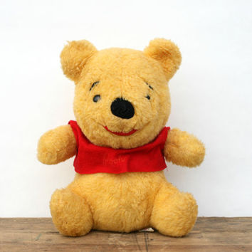 Vintage Winnie the Pooh Bear Stuffed Animal - Sears Pooh Bear Stuffed Animal