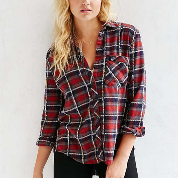 BDG Olly Flannel Shirt - Urban Outfitters