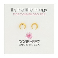 Dogeared It's The Little Things: Crescent Earrings