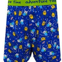 Adventure Time All-over Finn and Jake Boxers for men