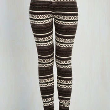80s Skinny Are We Cabin Fun Yet? Leggings in Winter