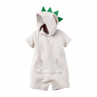 Carter's Long Sleeve Jumpsuit Mock- Baby - JCPenney