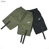 NIKE 2018 summer new men's reflective tooling function five pants F-AG-CLWM