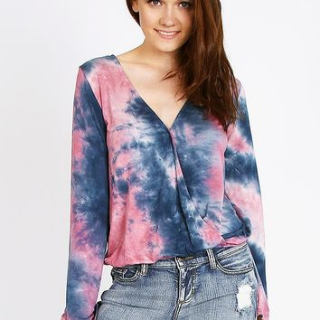 Strange Love Tie Dye Top | Threadsence