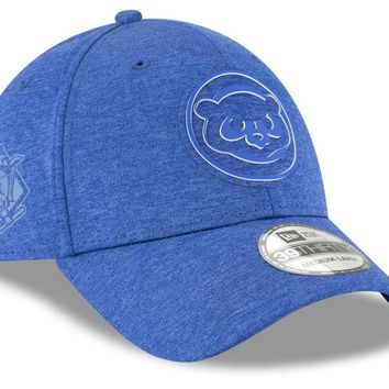MLB Chicago Cubs New Era 2018 MLB Clubhouse 39THIRTY Cap