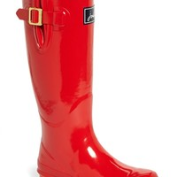 Joules 'Field Welly' Glossy Tall Rain Boot (Women) | Nordstrom