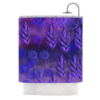 "Marianna Tankelevich ""Summer Night"" Purple Lavender Shower Curtain"