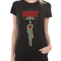 Mayday Parade Umbrella Man Girls T-Shirt