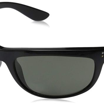 Ray-Ban Sunglasses - RB4089 Baloram  Frame: Black Lens: Crystal Green Polarized