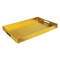 Jay Import Alligator Tray - Gold