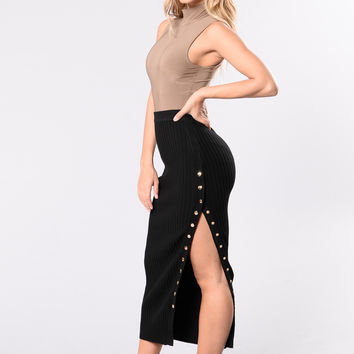 Do It Right Skirt - Black