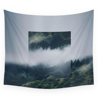 Society6 I Get Nervous. Wall Tapestry