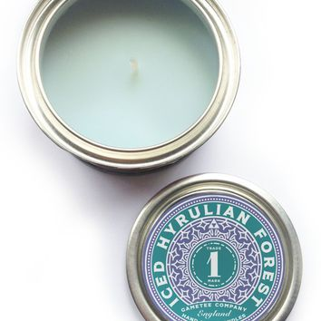 ICED HYRULIAN FOREST Candle - Winter Scents No. 1