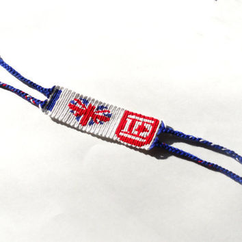 I Love One Direction Handmade Friendship Bracelet