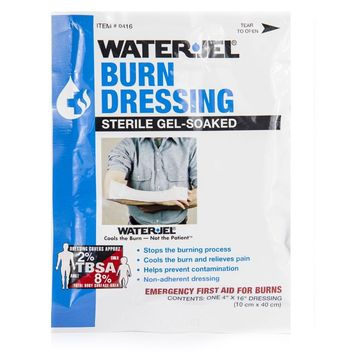 "Water Jel Burn Dressing (4"" x 16"")"