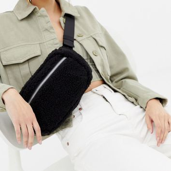weekday teddy zip body bag at asos.com