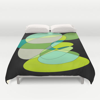 Abstract 3 Duvet Cover by DuckyB (Brandi)