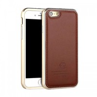 Luxury Leather and Metal Case - iPhone 6